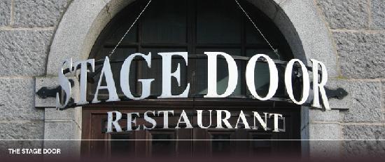 The Stage Door Restaurant The Stage Door Outside & The Stage Door Restaurant - Picture of The Stage Door Restaurant ...