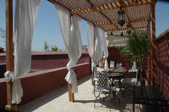 Riad Les 5 Soeurs: Dachterrasse