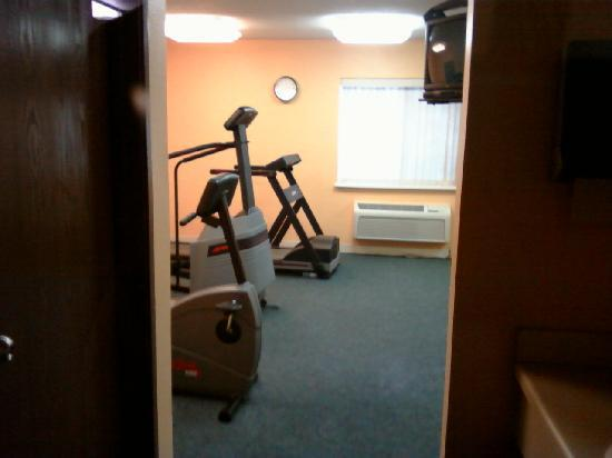 Comfort Inn Midtown : excercise room