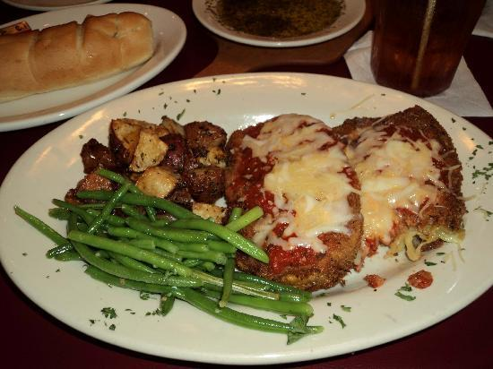 Florentina's Ristorante Italiano : My eggplant, potatoes, and green beans