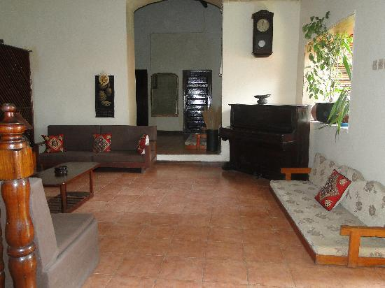 Malindi Guest House: One of the many spaces to relax in the guesthouse
