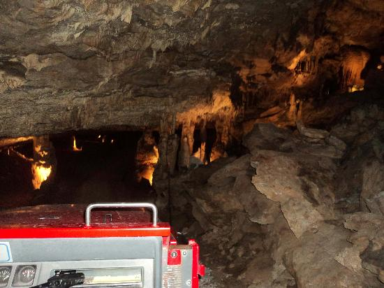 Fantastic Caverns: View from the tram