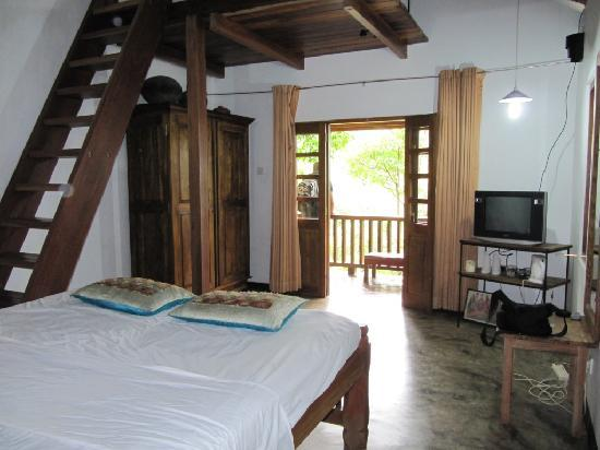 Belihuloya, Sri Lanka: Our cottage bedroom