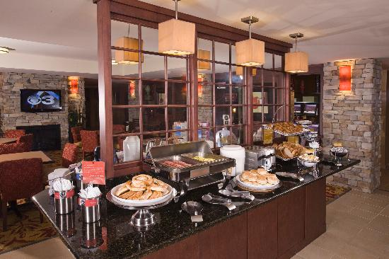 Hampton Inn Reading/Wyomissing: Breakfast buffet