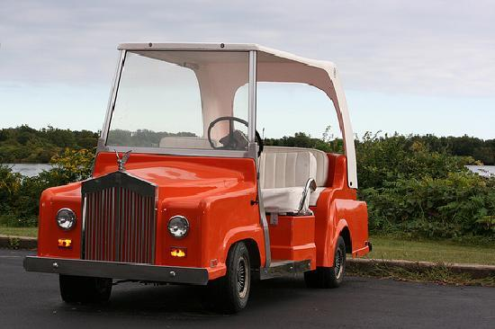 Charlestown, RI: Golf Cart Willows Resort