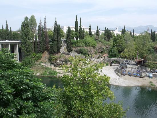 Blick vom Hotel Podgorica