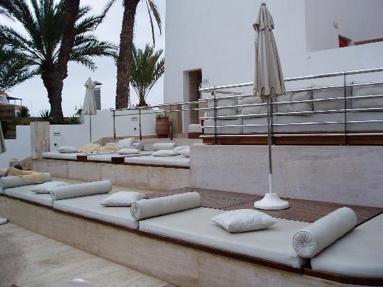 Hotel Timoulay & Spa Agadir: The Sunbeds