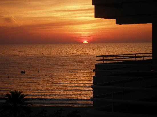 Hipotels Mercedes: Sonnenaufgang