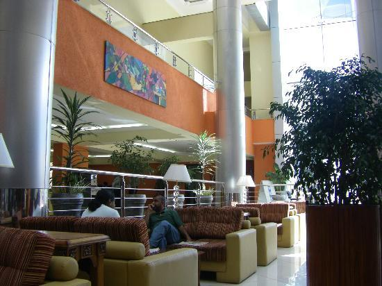Hotel Intercontinental Addis: Lobby