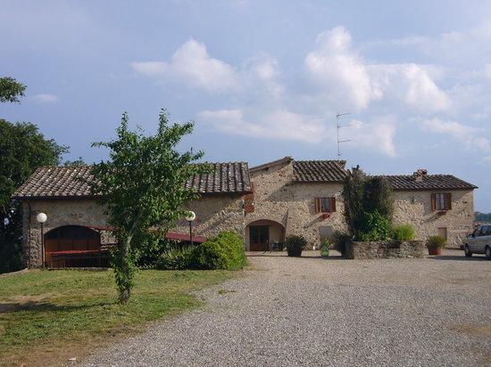 Quercegrossa, Italy: Außenansicht Podere Gaggiola