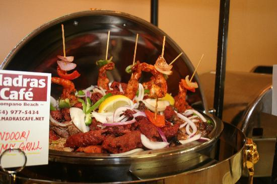 Indian Restaurant Fort Lauderdale Madras Cafe Tandoori Mixed Grill