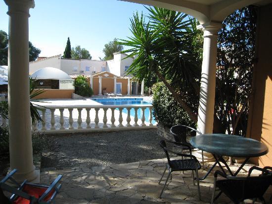 Chambre d'hotes La Potiniere : the terrace