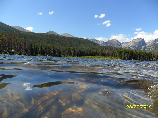 Fort Collins, CO: Relaxing Lake in Estes Park