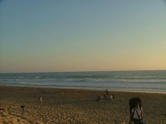 Cap Ocean: la plage le soir