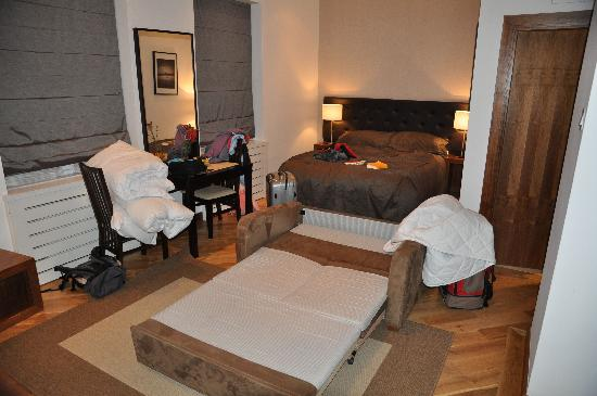 Presidential Apartments Kensington La Camera Bella Ma Senza Comodità