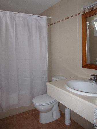 Hostal Roca Plana : baño