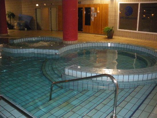 Sol Andalusi: piscina interior, jacuzzys y sauna