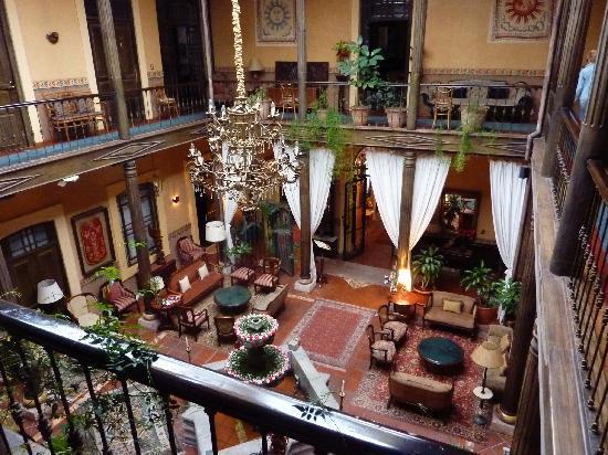 Mansion Alcazar Boutique Hotel: Patio Interno