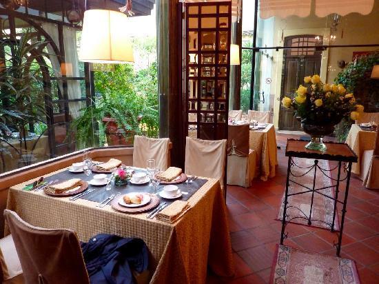 Mansion Alcazar Boutique Hotel: Sala da pranzo