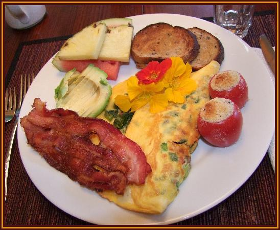 Ogopogo B & B: Another delicious breakfast
