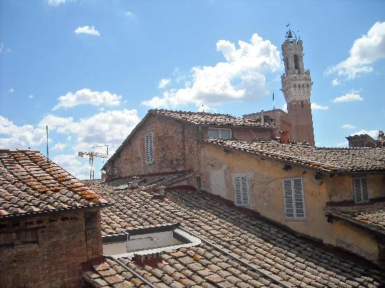 Palazzo Fani Mignanelli: View from our window