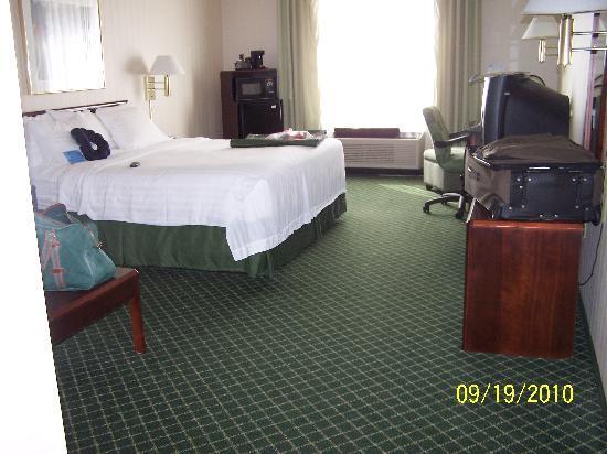 Fairfield Inn & Suites Lancaster : room