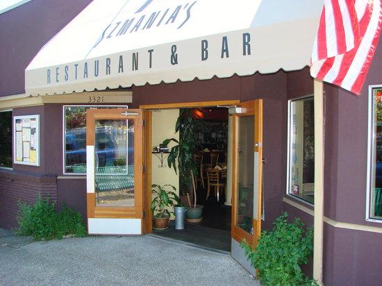 front of SZMANIA'S Restaurant & Jager Bar