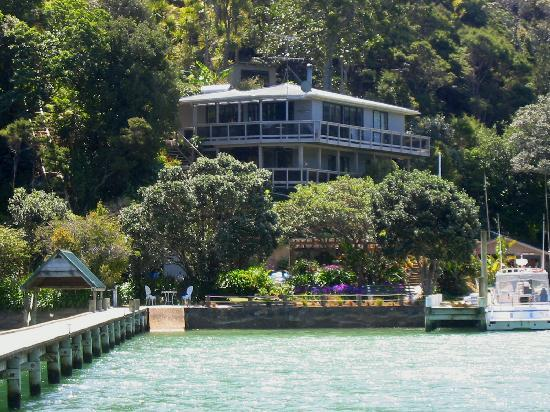 Kawau Island, Yeni Zelanda: Kawau Lodge