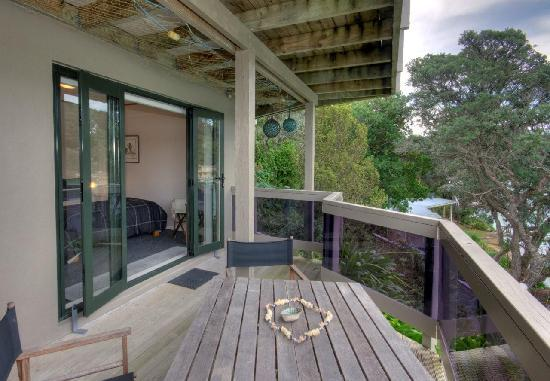 Kawau Island, Nya Zeeland: Outside Deck