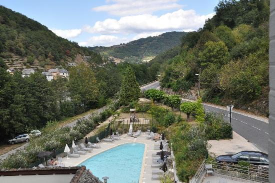 Hotel La Riviere : une vue magnifique de notre chambre