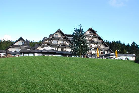 Paderborn, Alemania: Hotel front side