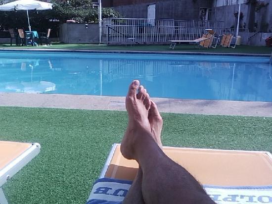 Hotel Santa Chiara: La piscina