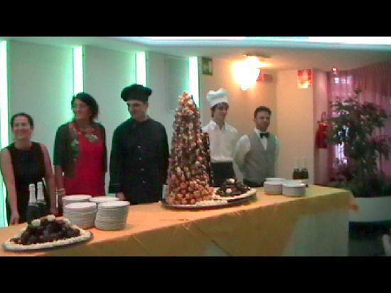 Hotel Santa Chiara: La torta di Ferragosto