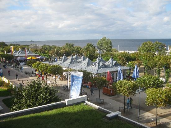 Seebad Ahlbeck, Tyskland: Blick aus dem Fenster