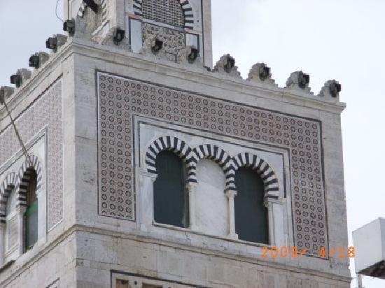 Mosque Kasbah : カスバモスクのモザイク