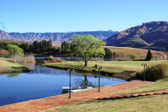 Underberg, South Africa: The picture tells it all. Total tranquility