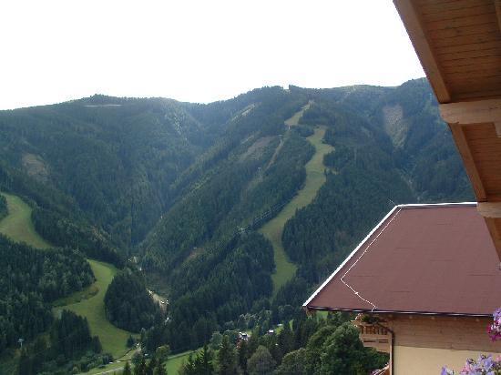 Berghotel Jaga Alm: Balkonzicht