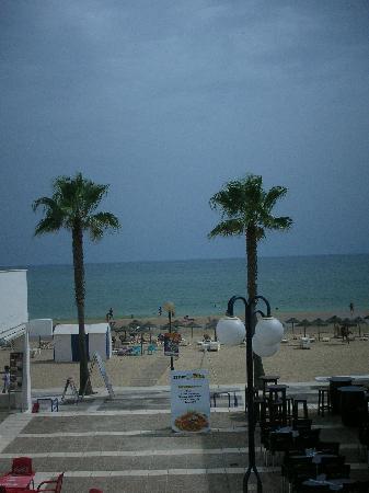 Hotel Lepemar Playa: Desde mi ventana del hotel