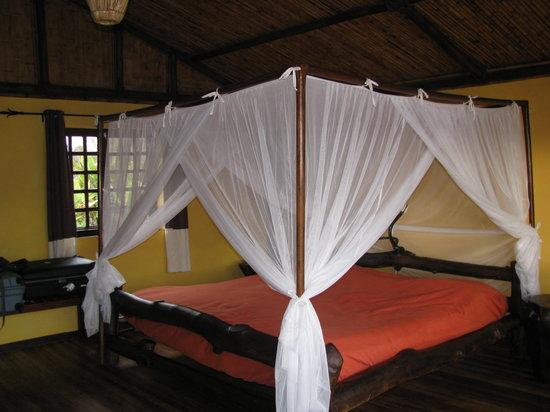 Fianarantsoa, Madagascar: un petit lit ou l'on se perd