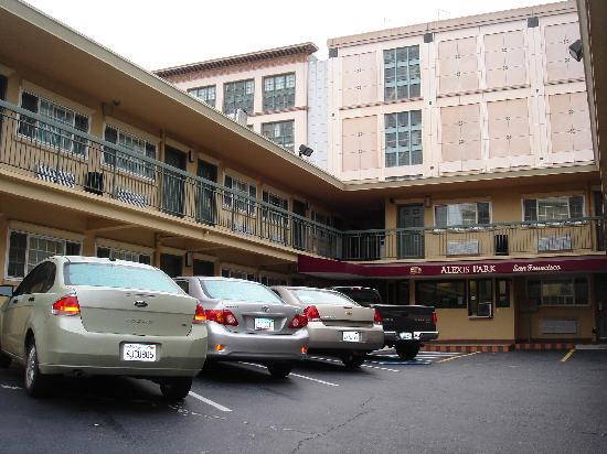 Alexis Park San Francisco: extérieur de l'hôtel