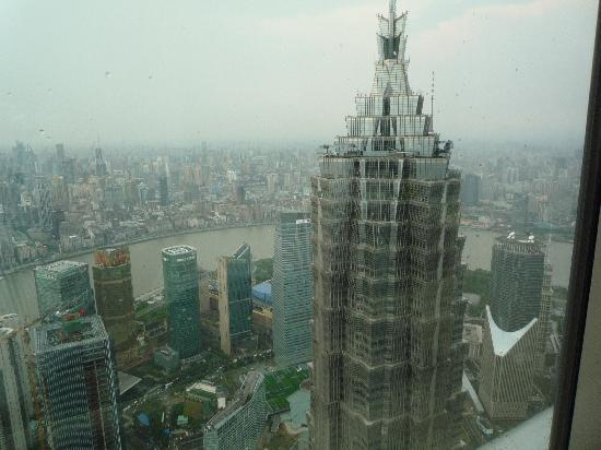Park Hyatt Shanghai : View of the Jin Mao Tower from our room