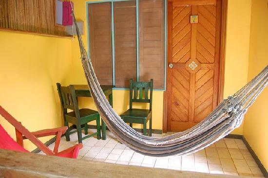 Hotel Guarana: guarana porch view