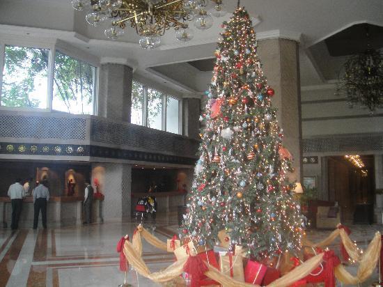 Taj Bengal Kolkata: Weihnachtsstimmung in der Lobby