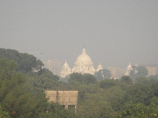 Taj Bengal Kolkata: Blick von Hotel auf Victoria Memorial