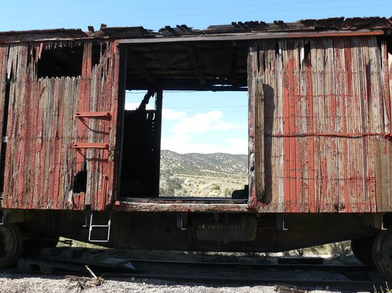 Ely, Невада: The Rail Yard