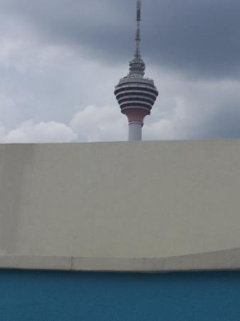 Hotel Imperial : Menara Tower from our window