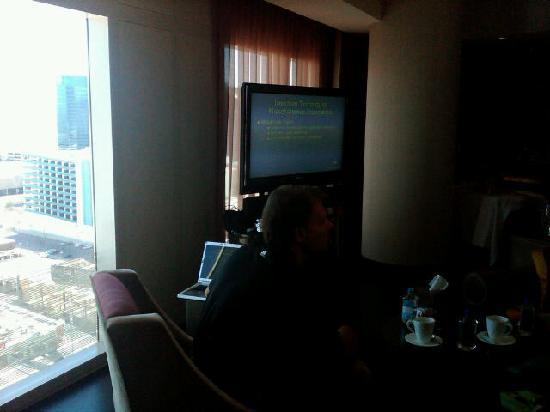 Mandarin Oriental, Las Vegas: View from Suite