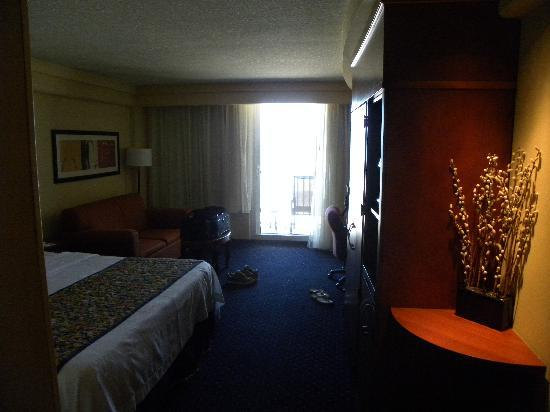 Courtyard by Marriott Jacksonville Beach Oceanfront: Hotel Room