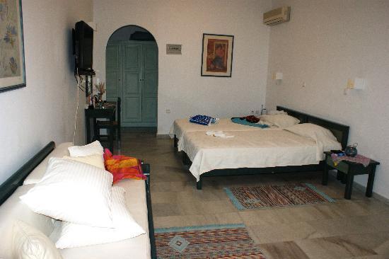 Villa Marandi Luxury Suites : ein Superior Zimmer mit Meersicht