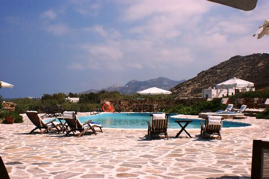 Villa Marandi Luxury Suites : der Pool, ein ruhige Oase